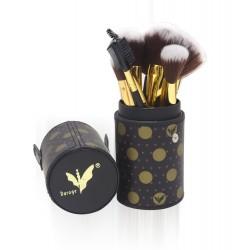 Daroge Black/Golden Make Up Brush 12 Pcs DG-804
