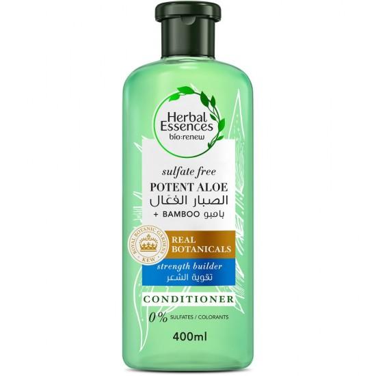 Herbal Essence Potent Aloe & Bamboo conditioner 400 ml