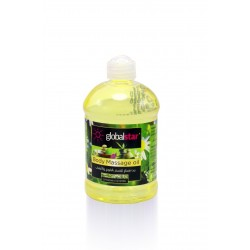 Global Star Massage Oil With Chamomile & Herbs 500 ML