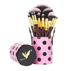 Daroge Pink Dot Collection Brush Set 12 Piece DG-802