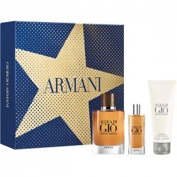 Armani Aqua Di Gio Absolu Set for Men Eau de Parfum 75 ml with Eau de Parfum, 15 ml and Shower Gel 75 ml