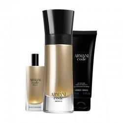 Armani Code Absolue Perfume Set 110 ml + Mini 15 ml + Gel + 75 ml