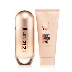Carolina Herrera 212 Vip Rose Perfume Box 80 مل + 100