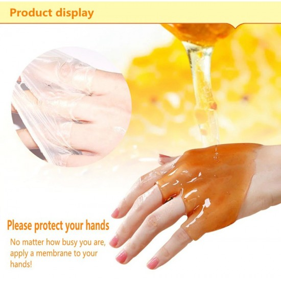 Bioaqua natural hand wax with honey and milk moisturizes the skin 170 g