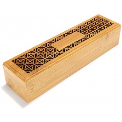 Wooden Incense Burner for Home, Office, Car and Gifts, Bossaid Incense Burner - A12S