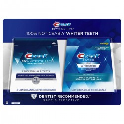 Crest 3D Professional Effects Teeth Whitening Kit 40 + 8 Strips