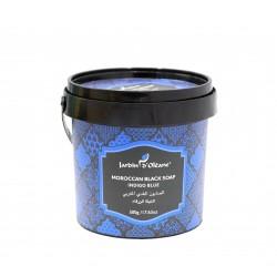 .Jardin D Oleane Morocan Black Soap With Indigo Blue 500 g