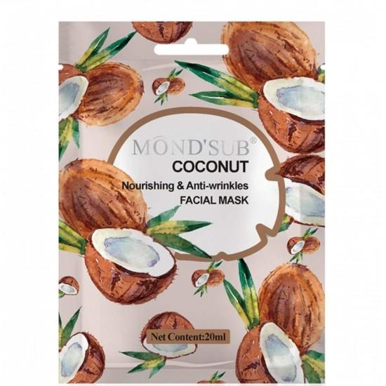 Mond Seb Coconut Face Mask Nourishing & Anti-Wrinkle 12 x 20ml