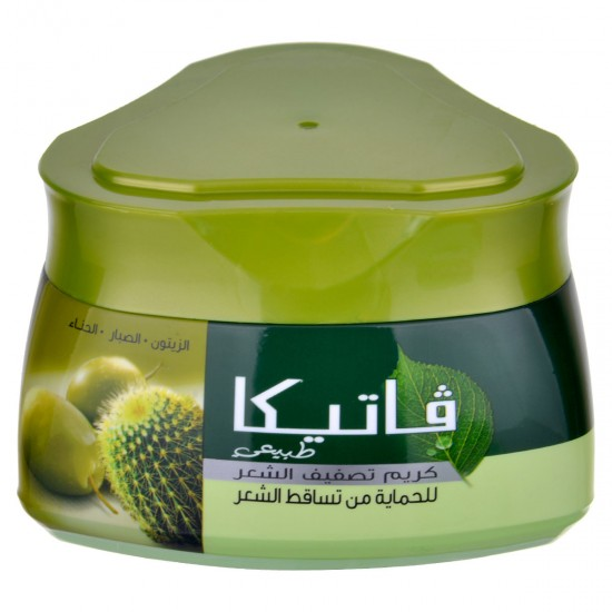 . Vatika Styling Hair Cream To Protect Against Hair Loss With Olives And Aloe Vera 210 ml