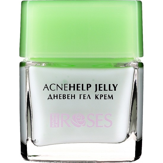 Roses AcneHelp Jelly Daily Cream For Acne Natural Ingredients With Tea Tree Aloe Vera And Rose Water 50 ML