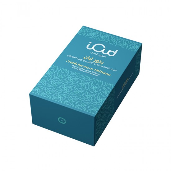 iOud smart oud incense, the luxurious incense of frankincense with clementine powder