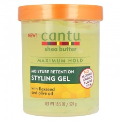 Cantu Hair Gel With Flaxseed And Olive Oil 524g