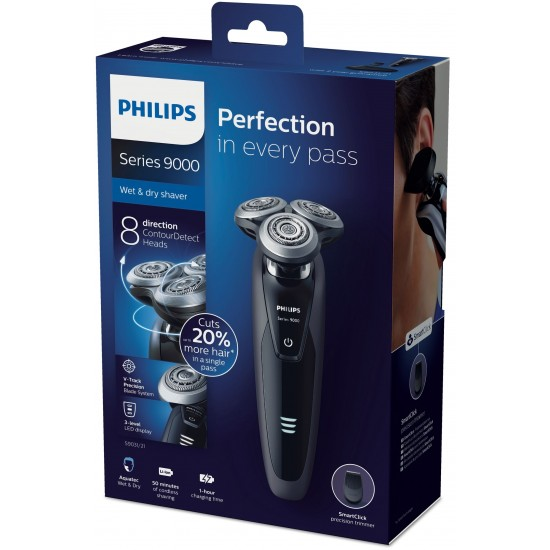 Philips smart electric shaver wet and dry (series9000) S9031-21