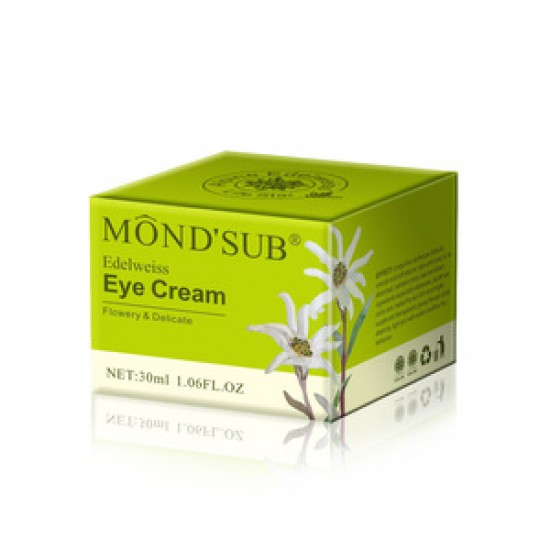 Mond Sub Cream Under Eye With Edelweiss Extract 30 ML