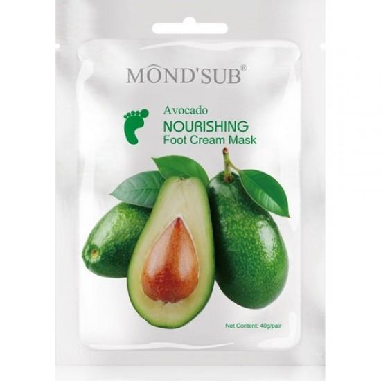 Mond Sub Avocado Foot Mask Nourishes Feet 5 * 40 g