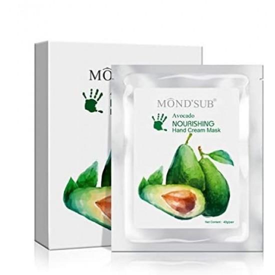 Mond Sub Avocado Nourishing Hand Mask 5 * 40gm