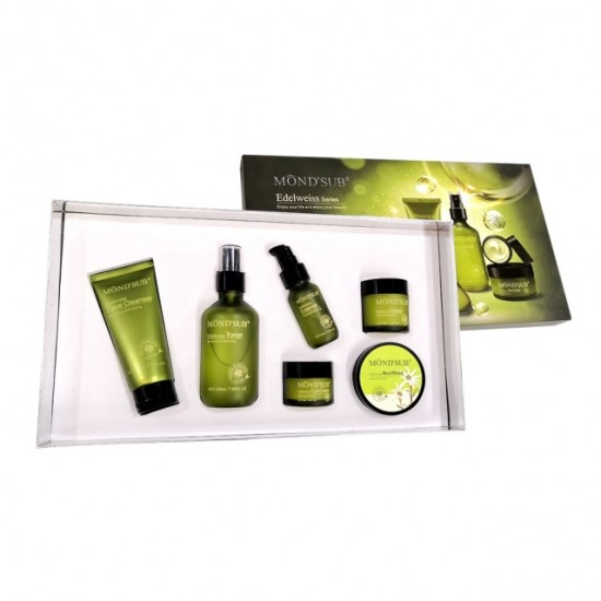 Mond Sub, a face care set with Edelweiss extract  5in1