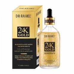 Dr. Rashel 24 karat gold anti-aging face primer and serum - 100 ml