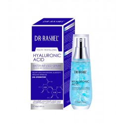 Dr.Rashel Serum with Hyaluronic Acid to moisturize the skin and improve its natural elasticity, 40gm