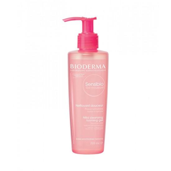 Bioderma Sensibio Sensitive Foaming Face Wash Gel - 200 ml