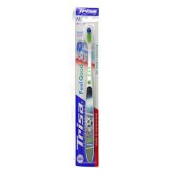 Trisa Feel Good Smart Clean MEDIUM Soft Toothbrush