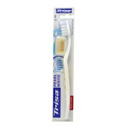 تريزا فرشاة أسنان ناعمة بلون اللؤلؤ الأبيض