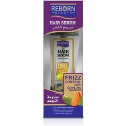 ريبورن سيرم الشعر مقاومة للتجعد ويغذى الشعر الجاف بالزيتون واللوز والحناء 60مل