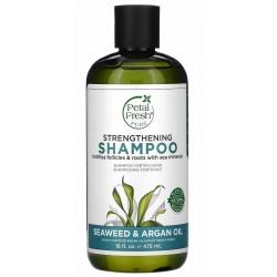 Petal Fresh Strengthening Shampoo Seaweed & Argan Oil 475 ml