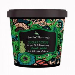 Jardin Flamingo Argan Oil & Rosemary Sugar Scrub 600 gm