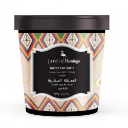 Jardin Flamingo Moroccan Sokla Moroccan Bath For Body Collagen 600 gm