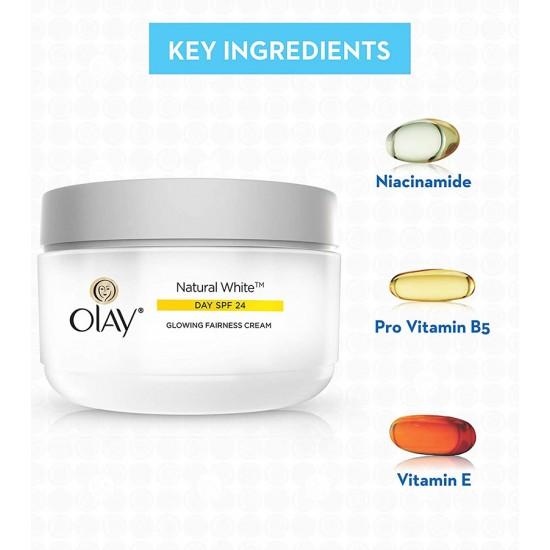 Olay Natural White Day SPF 24 Fairness Cream 50 gm
