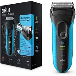 براون  Series 3 Pro Skin ماكينة الحلاقة اللاسليكة 3040s الجافة والرطبة