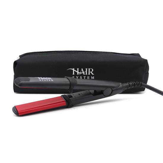 هير سيستم جهاز مكواة الشعر الاحترافي بتقنية السيراميك صغير   HS106